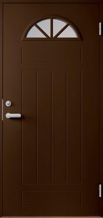 двери металлические темно коричневые